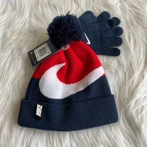 Boy's Nike Hat and Glove Set